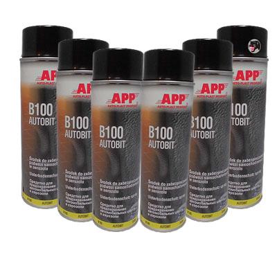 versandfrei 3x Unterbodenschutz B100 Autobit 1kg Bitumen APP